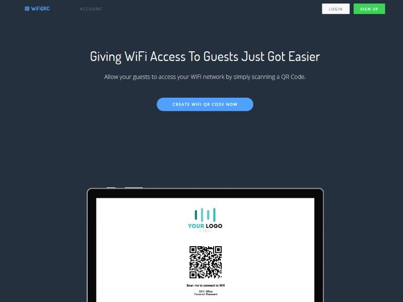 WiFiQRC